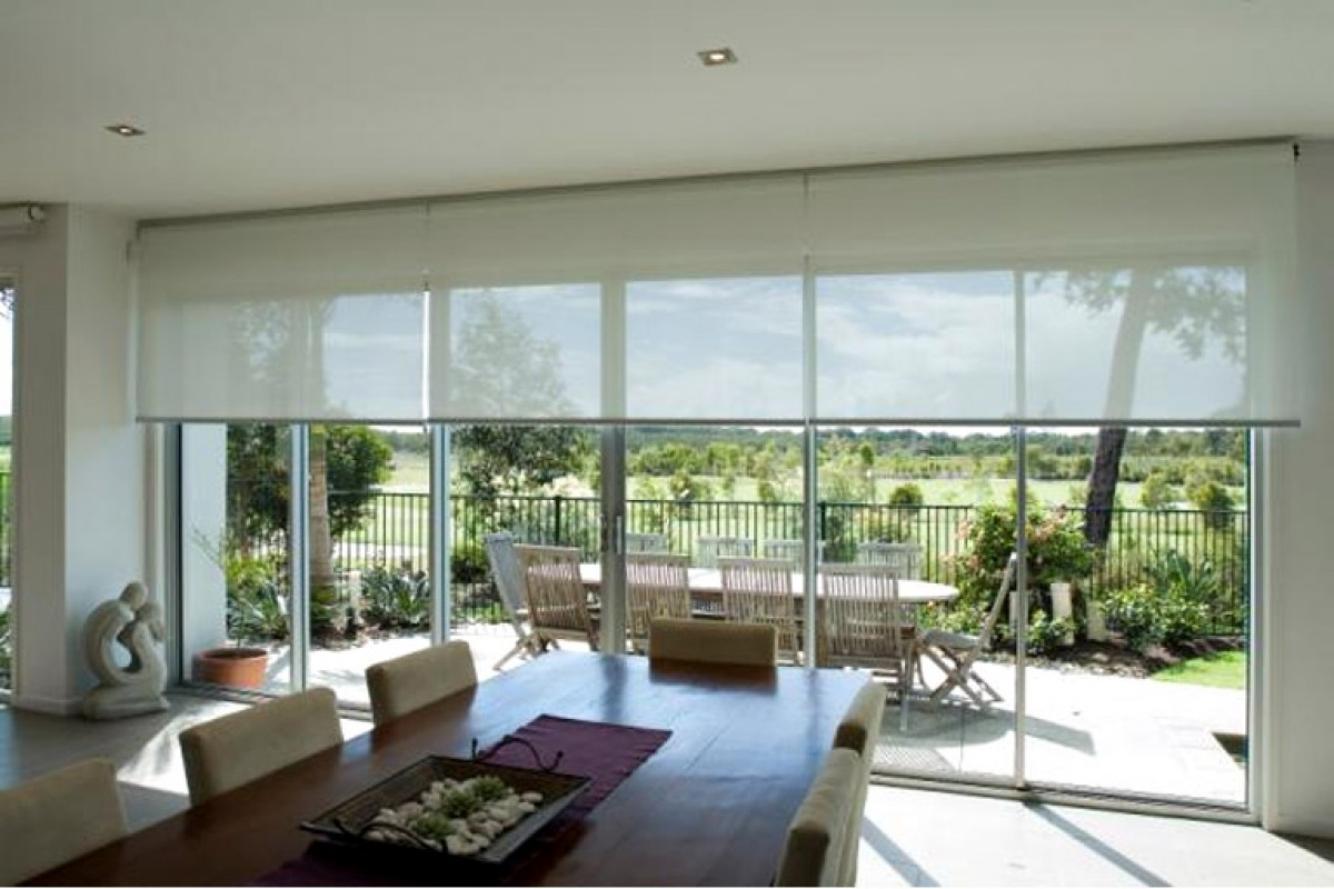 Designer 5 Solar Roller Shades From Direct Buy Blinds