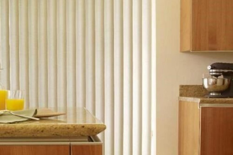S-Shaped Curved Classic Vertical Blind