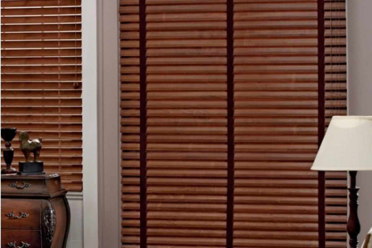 """Graber 2"""" Traditions Wood Blinds"""