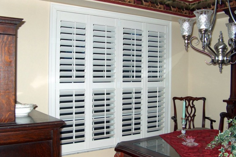Premium Painted Wood Shutter